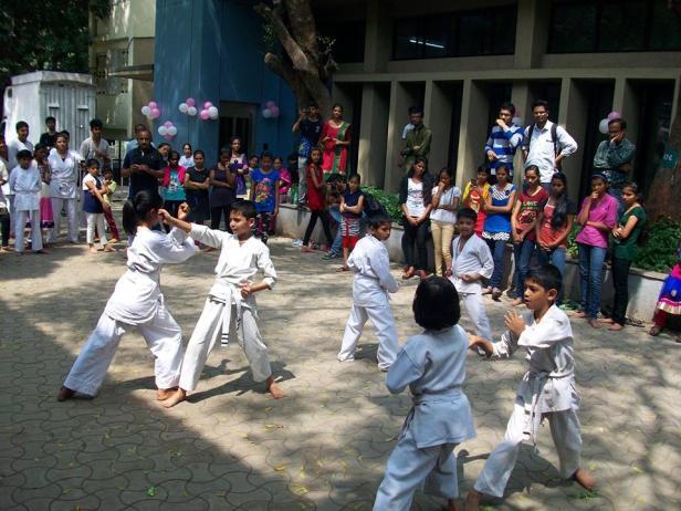 COEP-Mindspark-2015-Event-Moments-Karate-for-Kids