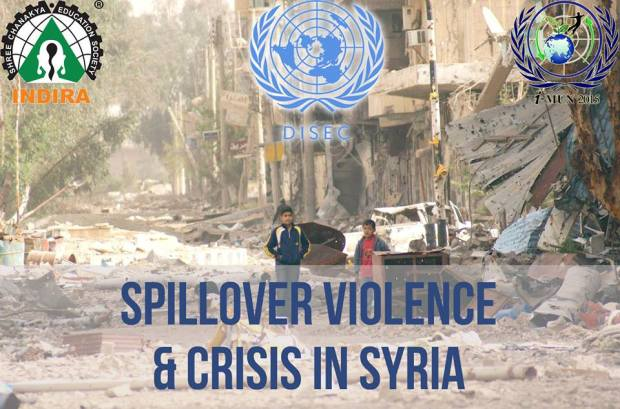 Spillover-violence-and-Crisis-in-Syria-iMUN-2015