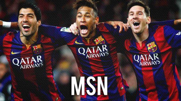 lionel messi luis suarez neymar jr fc barcelona