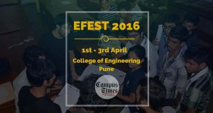 EFEST 2016 coep pune technical fest students