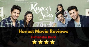 kapoor & sons movie scenes movie review
