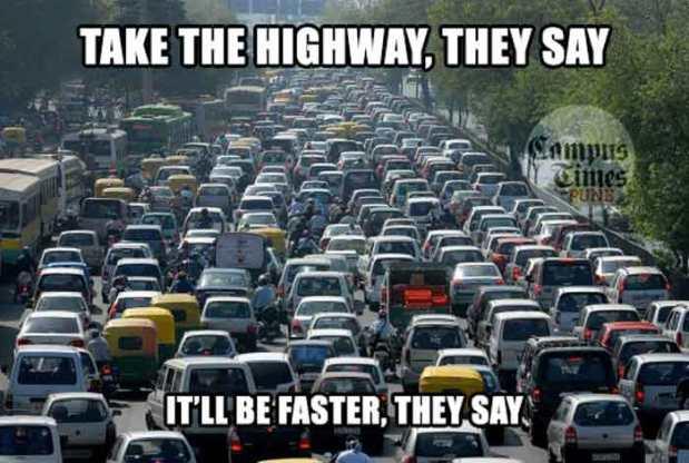 Traffic-Jams-Misconceptions-about-Mumbai