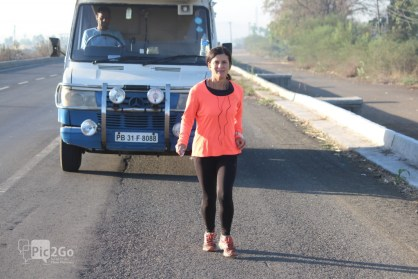 michelle kakade pune golden quadrilateral run