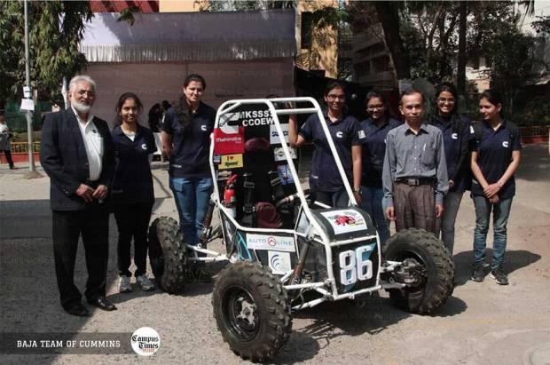 Baja-Team-of-Cummins-College-Pune