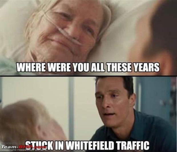 bangalore traffic meme funny