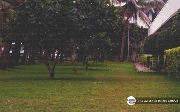 mit alandi campus images garden pune