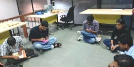 COEP-Swayam-Team-Brainstorming-for-Satellite-Launch