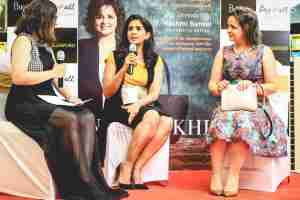 nina lekhi book launch baggit bag it all crossword campus times pune sonali kulkarni