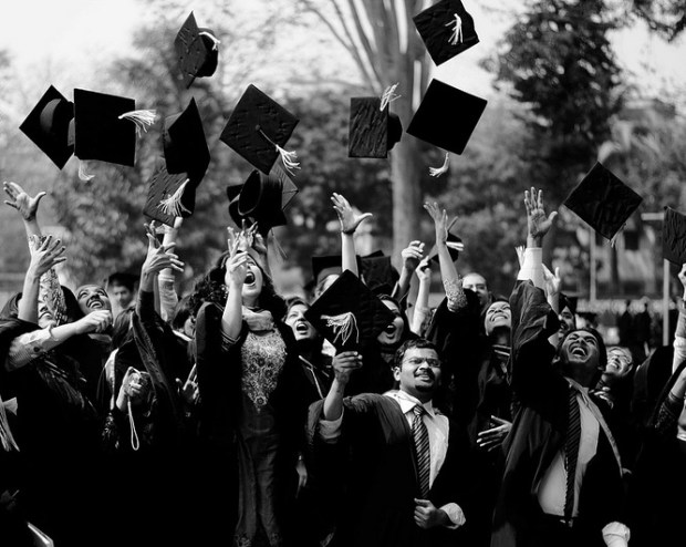 graduation-caps-toss-indian-students