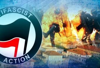 Antifa Group Suggests Burning Police
