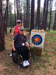 Ralph and wife archery