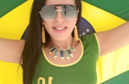 Travesti brasileira Bruna Siqueira
