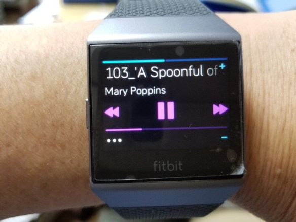 Fitbit Ionicの写真