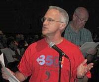 Rev. Dr. Jim Antal speaking