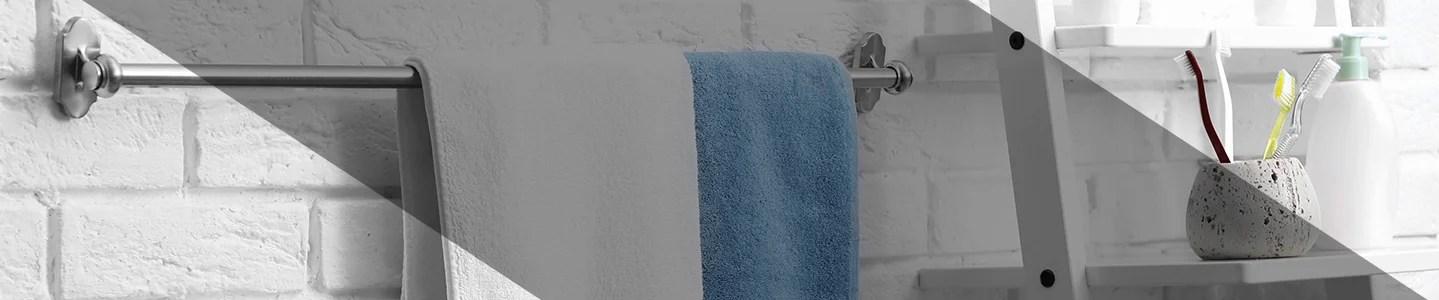 barres a serviettes rideaux de douche