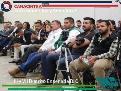 Invitados al foro Aspirantes a Diputados Federales por el III y VII Distrito.