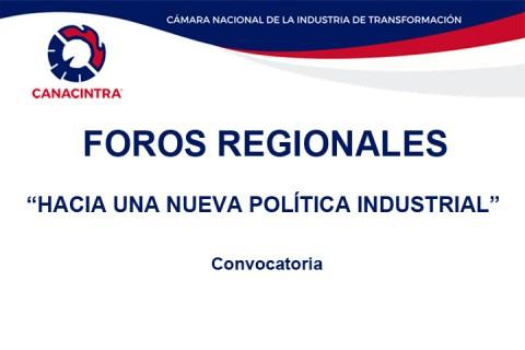 FOROS: Hacia una nueva política industrial