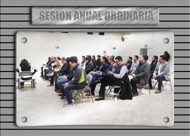 Sesión Anual 2020