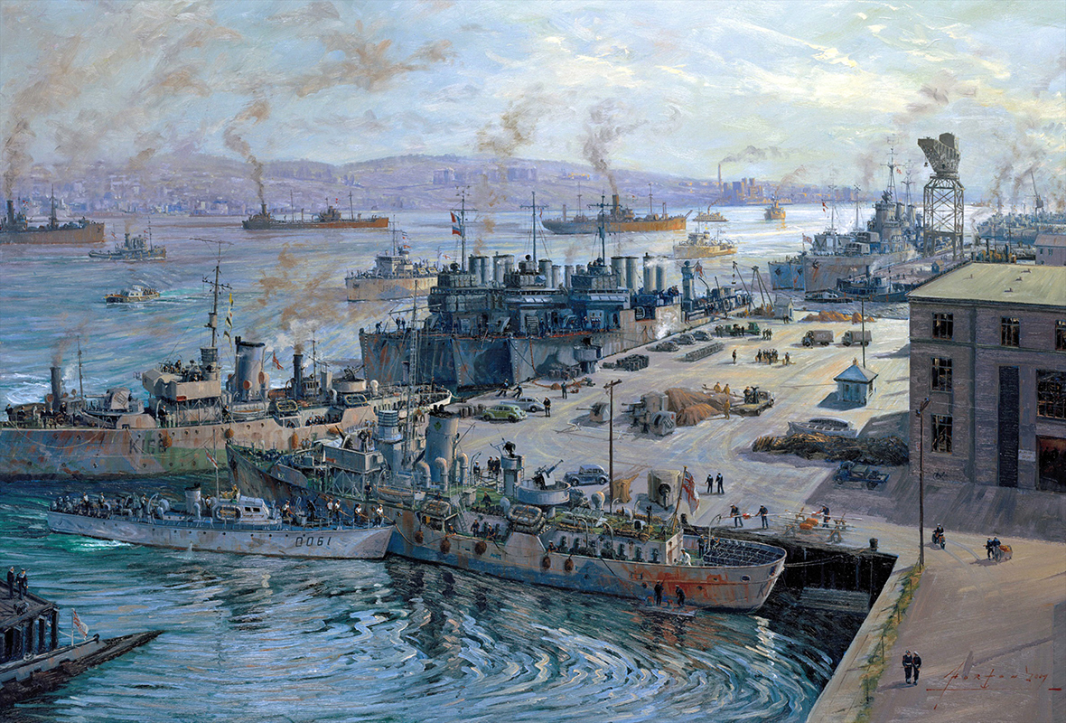 The Battle Of The Atlantic To