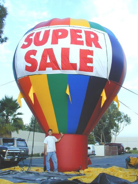 Product Balloons Cold Air