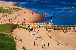 Singing Sands Beach P.E.i.