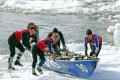 Ice Canoe Racing photo courtesy Quebec City Touism