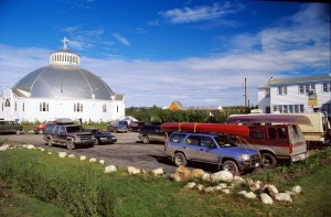Inuvik Igloo Church Photo courtesy of NWT Tourism
