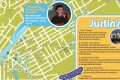 Map of Justin Bieber's Stratford - Tourism Stratford