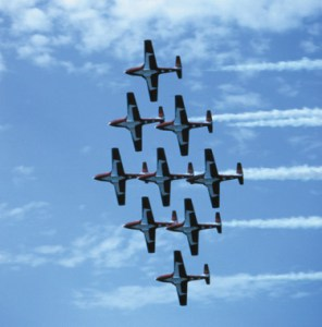 Snowbirds courtesy Saskatchewan Tourism