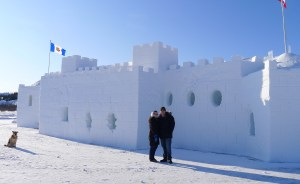 Snowcastle Photo courtesy NWT Tourism