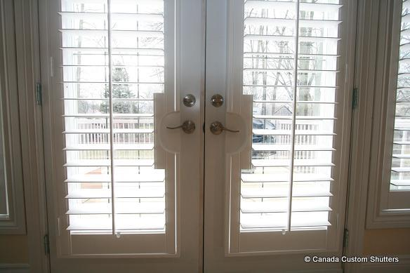 Louvered Amp French Door Gallery Canada Custom Shutters
