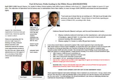 Report of Investigation Fast & Furious: The Path to the White House