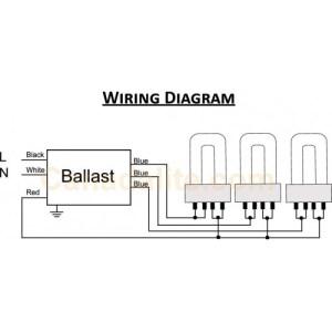 Ultrasave UT340120MB  3Lamp  FT40W2G11  BiaxPLLL