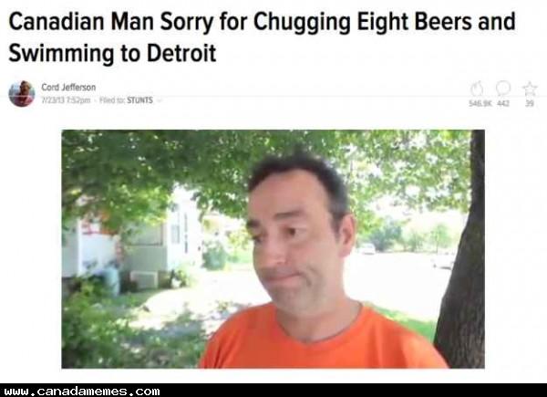 He wasn't sorry