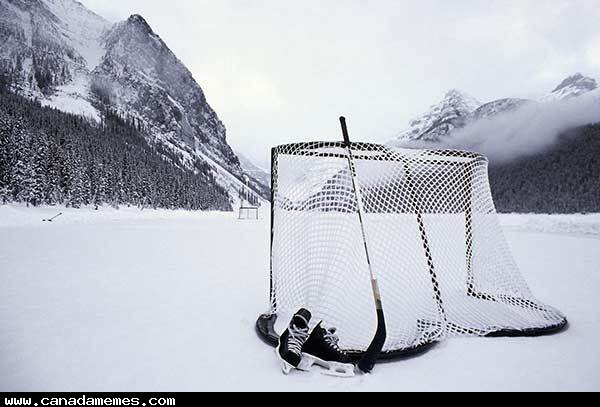 The only rink that hockey should be played on!