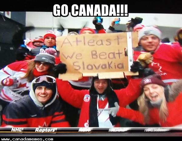 Suck it USA. Go Canada!!!