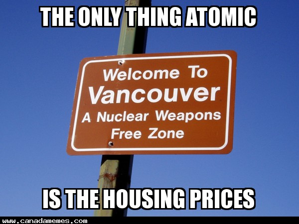 The only thing atomic is the housing prices