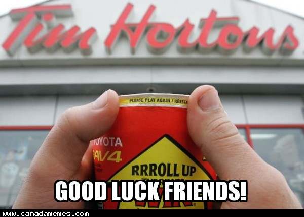 PSA: Roll up the rim to win is back on!