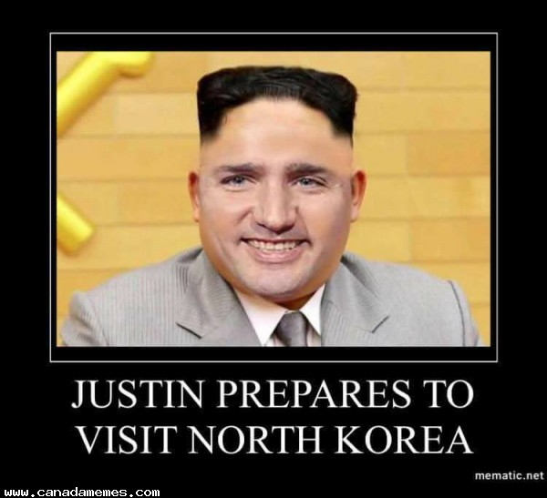 Justin prepares to go to North Korea
