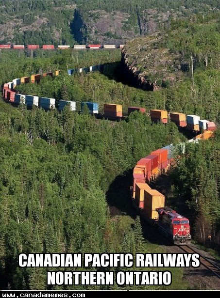 Very Cool! Canadian Pacific Railways Northern Ontario