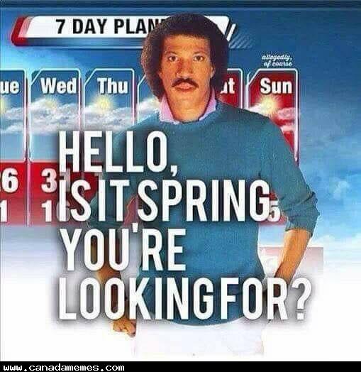 Still looking for Spring!