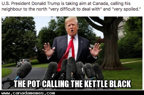 The pot calling the kettle black