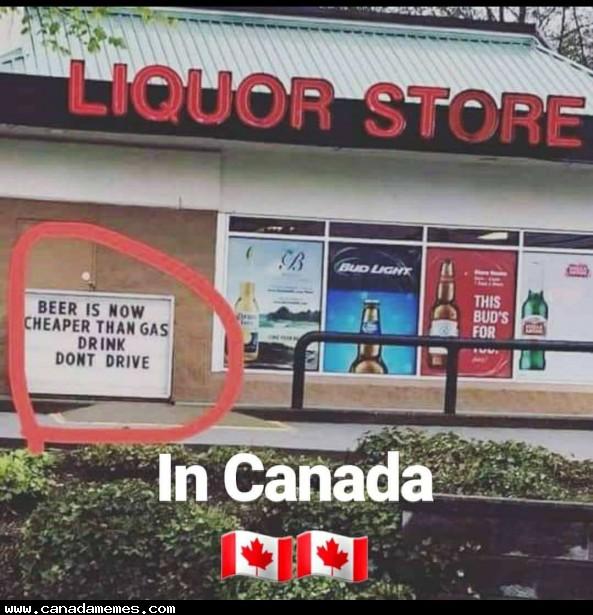 Gas prices aint no joke! - Canada Memes