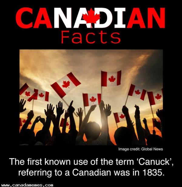 🇨🇦 Fun Fact Friday - The Origin of the term Canuck