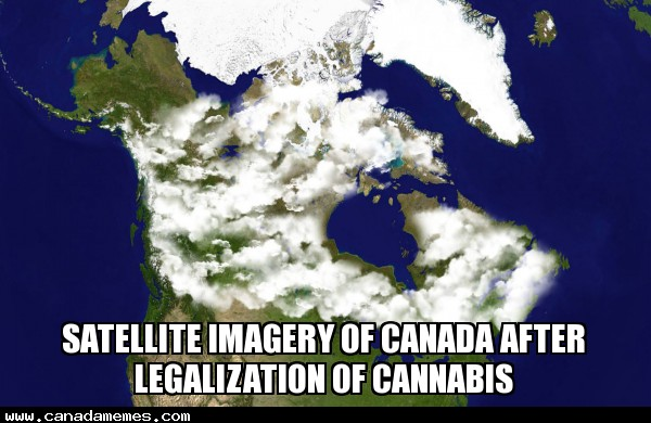 🇨🇦 Satellite imagery of Canada after legalization of Cannabis