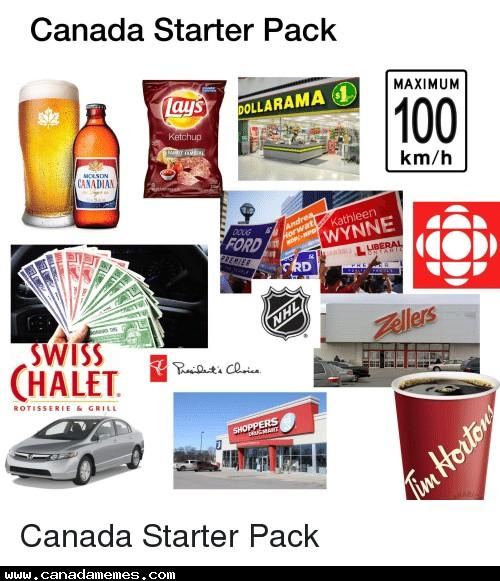 🇨🇦 Canadian Starter Pack