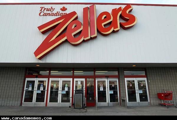 🇨🇦 #TBT Throw Back Thursday - Who misses Zellers?