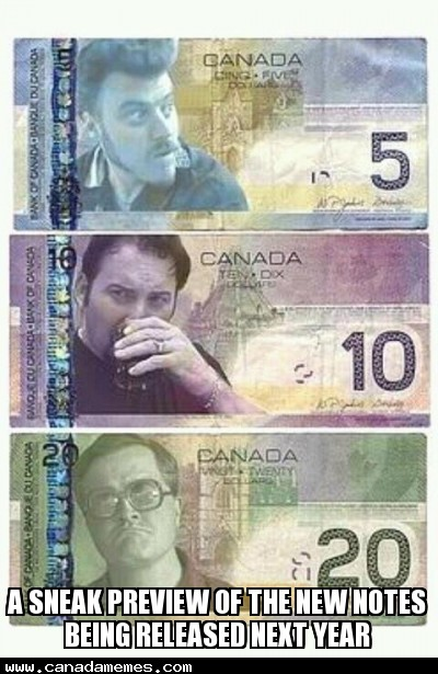 🇨🇦 A sneak preview of the new notes being released next year