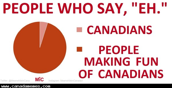 "🇨🇦 People who say ""EH"""