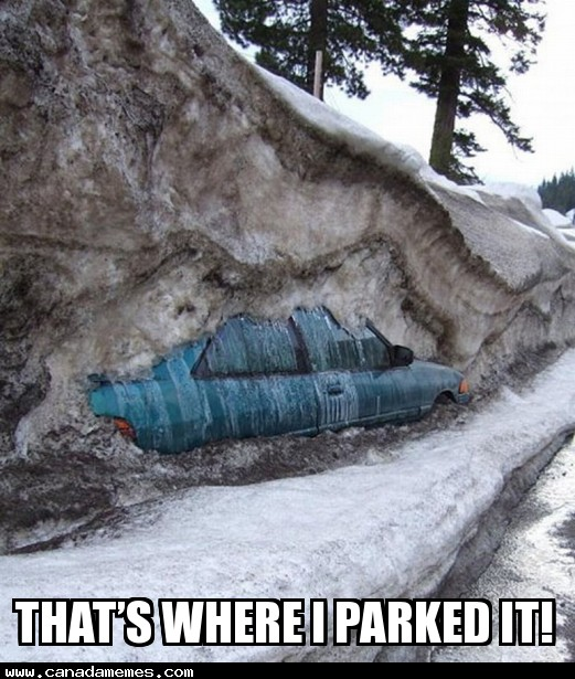 🇨🇦 That's where I parked it!